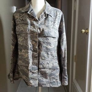 WOMENS CAMO UTILITY COAT AIRFORCE